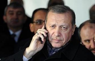 Cumhurbaşkanı Erdoğan, BM Genel Sekreteri  ile telefonda görüştü
