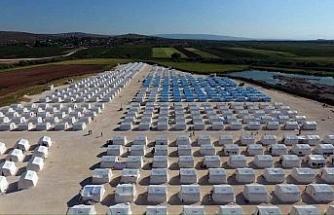 Doğu Guta mültecileri için kamplar kuruluyor