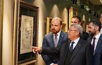 Erdoğan'ın kişisel koleksiyonundan oluşan sergi açıldı