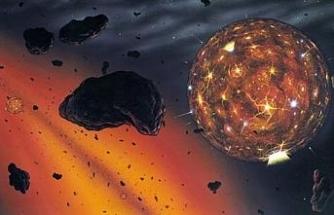 Göktaşındaki elmastan kaybolan gezegeni tespit edildi
