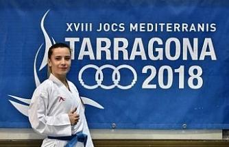 Akdeniz Oyunları'nda ilk madalya Serap Arapoğlu'ndan