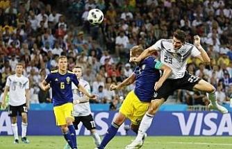Almanya zaferi uzatmalarda aldı