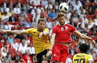 Belçika-Tunus maçında 7 gol