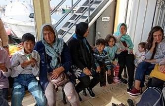 Çanakkale'de 45 mülteci yakalandı