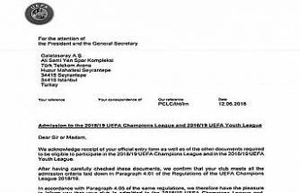 Galatasaray'a UEFA'dan mektup var