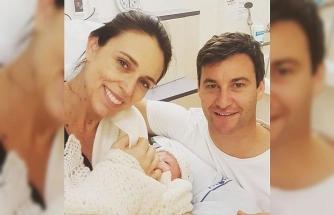 Yeni Zelanda Başbakanı doğum yaptı