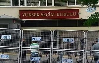 YSK'da yoğun güvenlik önlemleri alındı