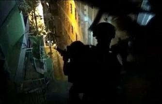 DEAŞ'a yönelik operasyon kamerada