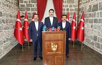 Diyarbakır'a 2 'Millet Bahçesi' müjdesi