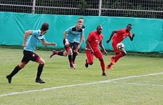 Eskişehirspor ilk hazırlık maçından galip ayrıldı