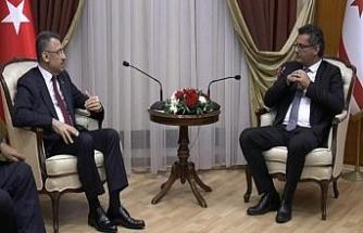 Fuat Oktay KKTC Başbakanı Erhürman ile görüştü