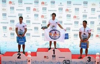 Kıtalar arası yüzme yarışında kazananlar belli oldu