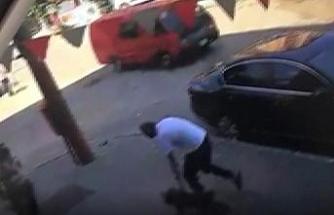 Köpek hırsızı kameraya yakalandı