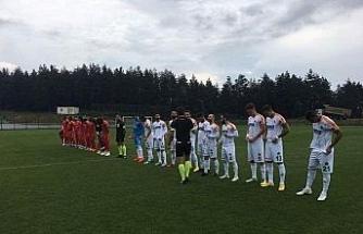 Yeni Malatyaspor hazırlık maçında mağlup