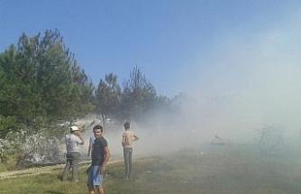 Atatürk Hatıra Ormanı'nda yangın