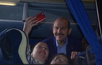 Bakan Süleyman Soylu sürprizi
