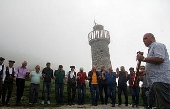 Denize 40 kilometre uzaklıkta deniz feneri