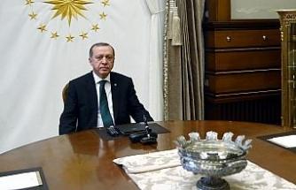 Erdoğan-Şeyh Temim'in görüşmesi 3,5 saat sürdü