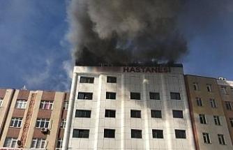 Sultanbeyli'deki özel hastaneden yangınla ilgili açıklama