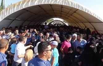 Suriyelilerin son gün yoğunluğu