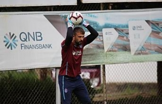 Trabzonspor'da Ankaragücü mesaisi başladı