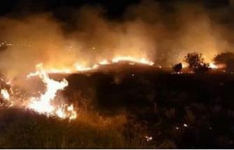 Çeşme'yi korkutan yangın kontrol altına alındı