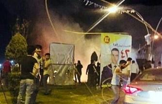 Erbil'de patlama: 1 ölü, 3 yaralı