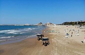 İstanbul'un plajlarında temizlik seferberliği