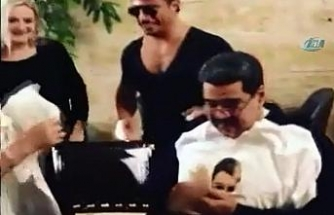 Maduro Nusret'in konuğu oldu
