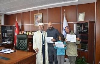 Tatil için geldikleri Kapadokya'da Müslüman oldular