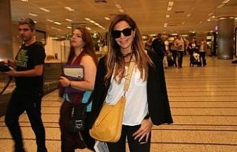 Ünlü şarkıcı Despina Vandi İstanbul'da