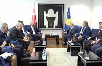 Çavuşoğlu, Kosova Başbakanı Haradinaj ile görüştü
