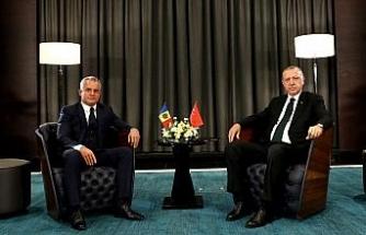 Erdoğan Moldova Demokrat Parti Genel Başkanı ile görüştü