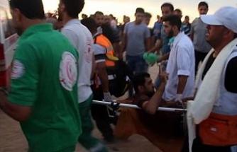 İsrail askerleri gerçek mermi kullandı: 80 yaralı