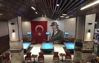 Türkiye 3 Bant Bilardo Turnuvası başladı
