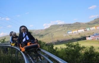 Başkan Altınok: En uzun dağ kızağı Keçiören'de