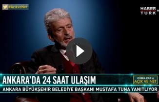 Ankara'nın Yeni Belediye Başkanı'ndan 24 saat ulaşım açıklaması