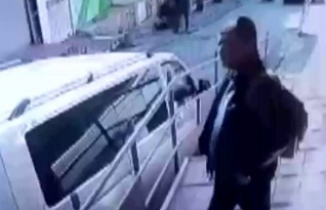 Taksim'deki saldırı kamerada
