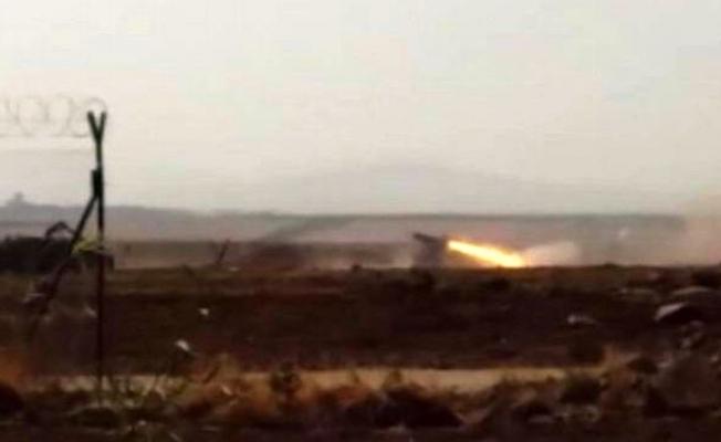 Afrin'deki PKK/PYD mevzileri vurulmaya devam ediyor
