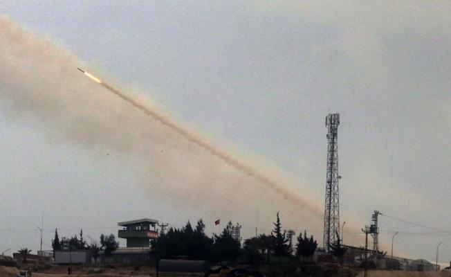 Afrin'deki terör hedefleri aralıksız vuruluyor