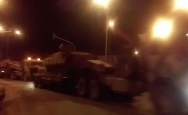 Afrin'e askeri sevkıyat sürüyor