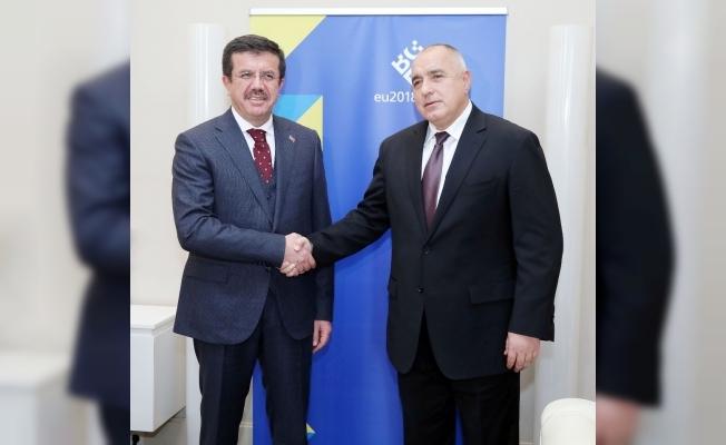 Bakan Zeybekci, Bulgaristan Başbakanı Borisov ile görüştü