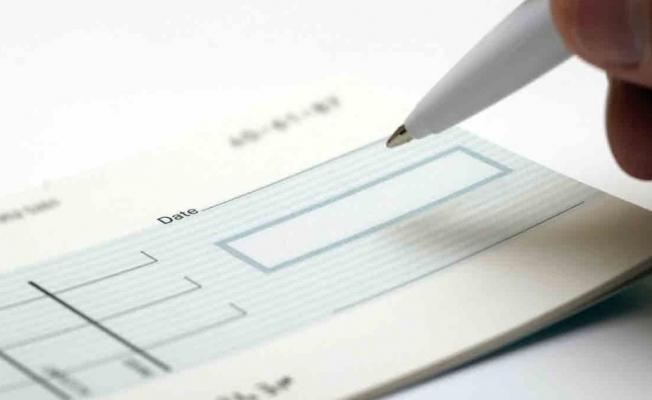 Bankalara ibraz edilen çek tutarı 87 milyar lira oldu