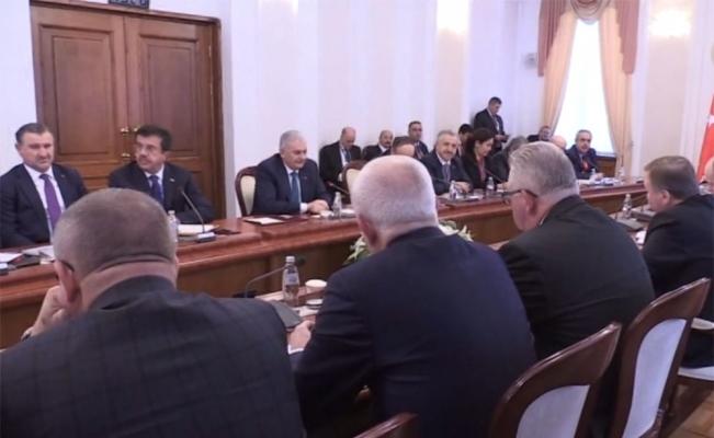 Belarus'ta heyetlerarası görüşme