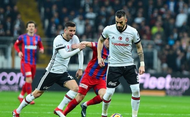 Beşiktaş'ta ilk yarı 2 gol
