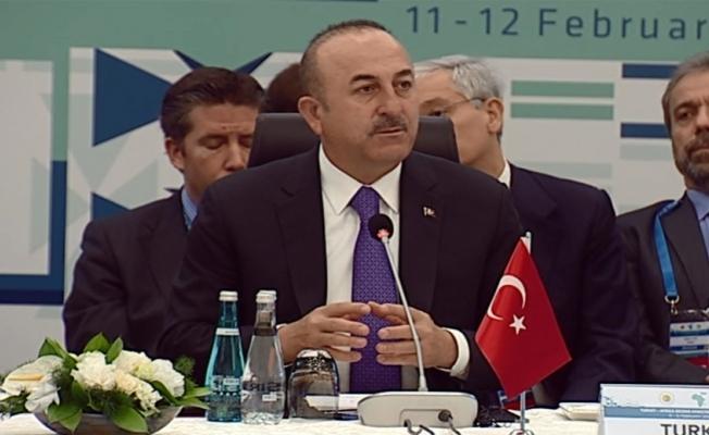 """Çavuşoğlu'dan Afrikalı bakanlara """"FETÖ"""" uyarısı"""