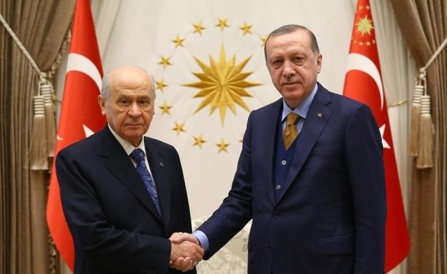 Cumhurbaşkanı Erdoğan, Bahçeli ile Pazar günü bir araya gelecek