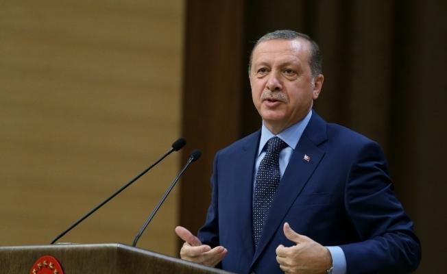 """Erdoğan: """"AK Parti'nin kaderi, milletin kaderiyle bütünleşmiştir"""""""