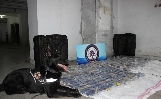 Erzincan'da 20 milyon TL değerinde eroin ele geçirildi