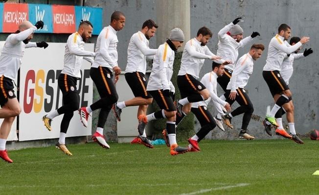 Galatasaray'da Kasımpaşa hazırlıkları başladı